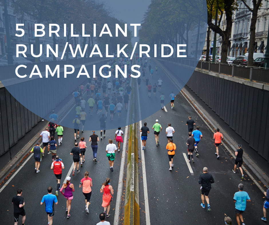 5 Brilliant Run/Walk/Ride Campaigns