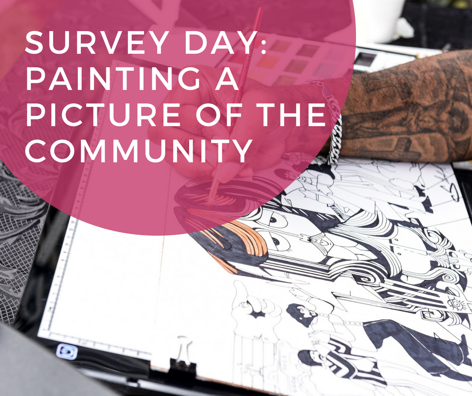 Survey Day: Painting a Picture of the Community