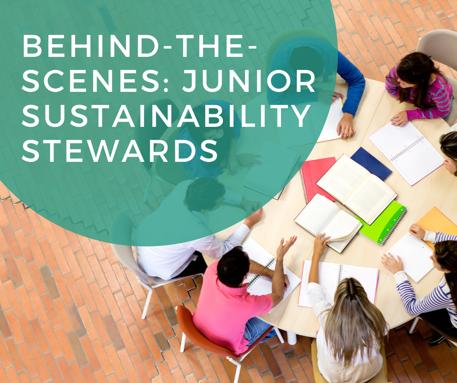 Behind-The-Scenes: Junior Sustainability Stewards